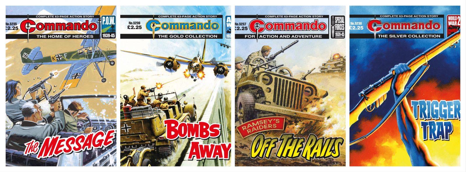 Commando issues 5235 – 5258