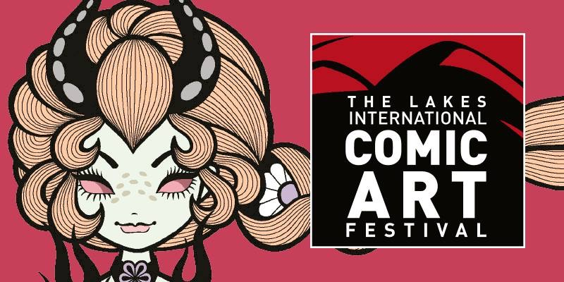 Lakes International Comic Art Festival 2019 - Junko Mizuno Banner