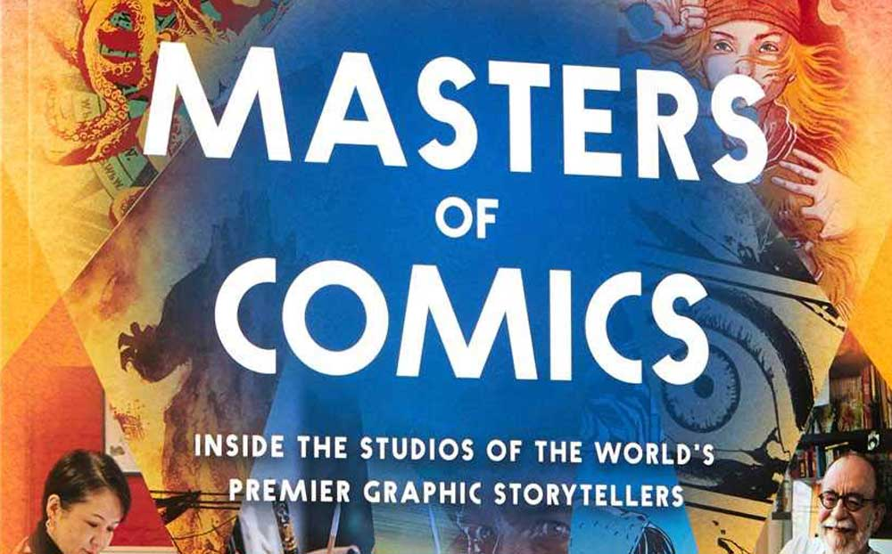 Masters of Comics by Joel Meadows SNIP