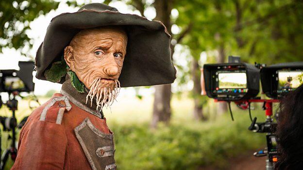 Mackenzie Crook as Worzel Gummidge. Image: BBC