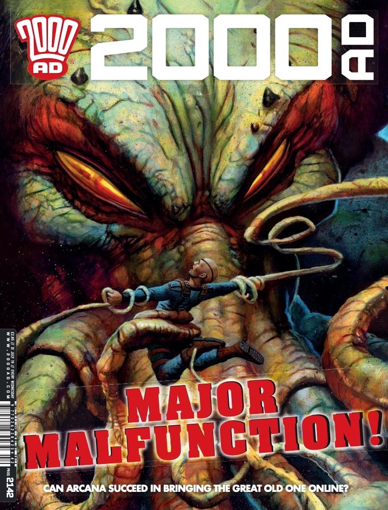 2000AD Prog 2142 - Cover