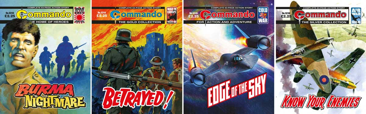 Commando 5243-5246 Montage