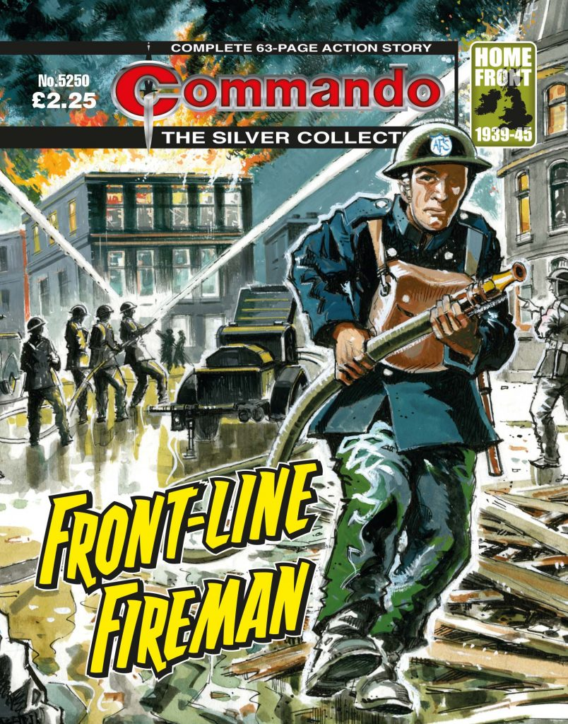 Commando 5250: Silver Collection - Front-Line Fireman