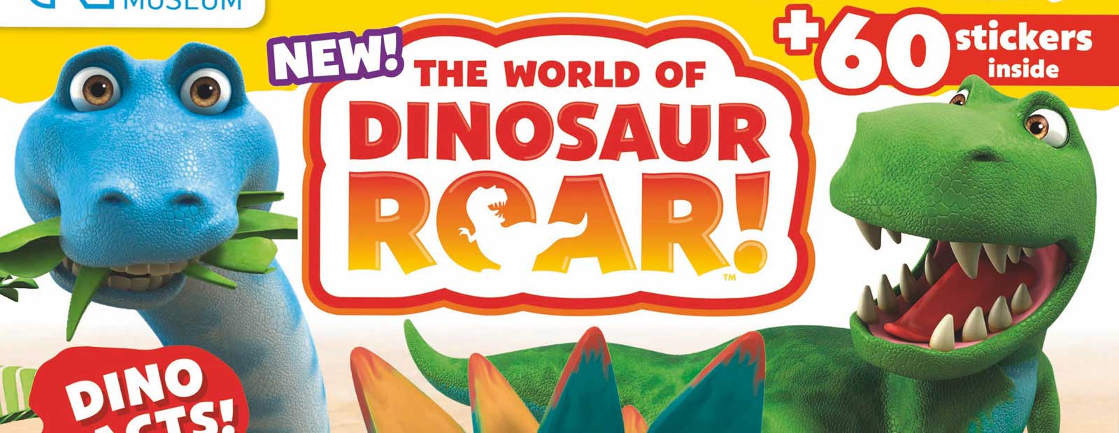 World Of Dinosaur Roar! magazine SNIP