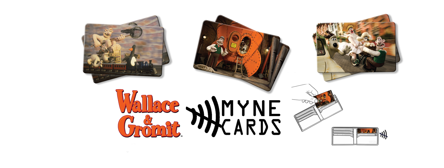 Wallace and Gromit Myne Cards