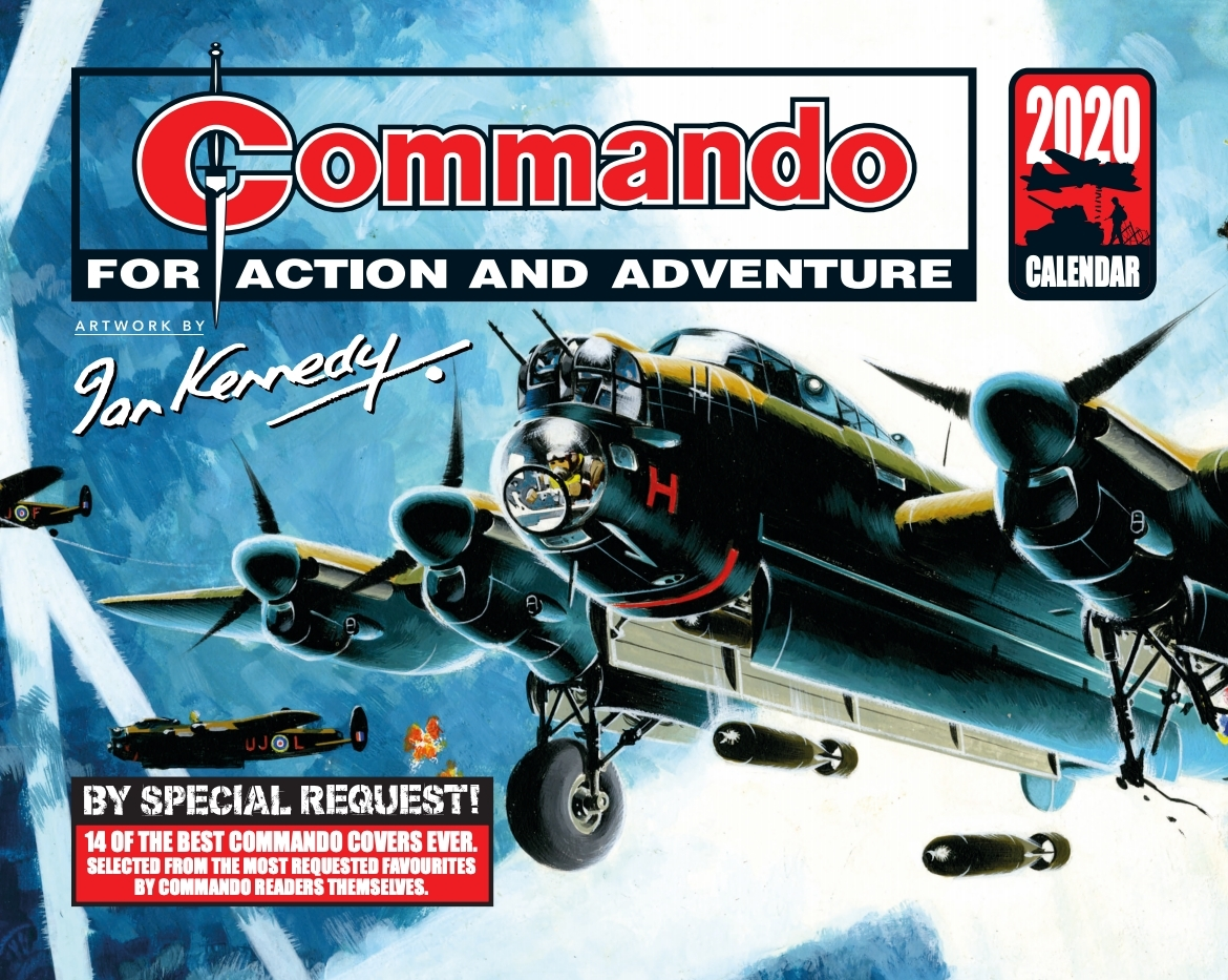 Commando Comics Calendar 2020 - Cover