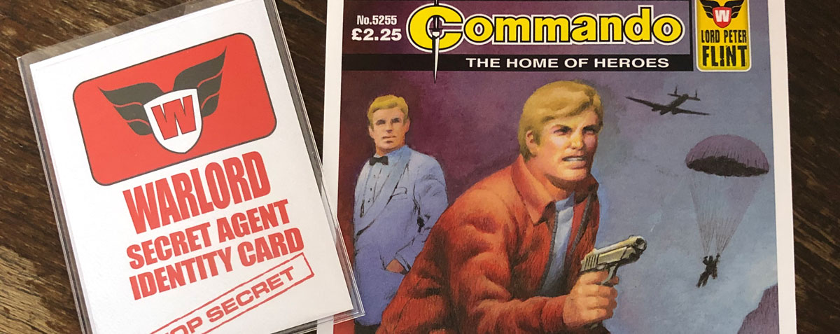 Commando presents Codename: Warlord - Promotion SNIP