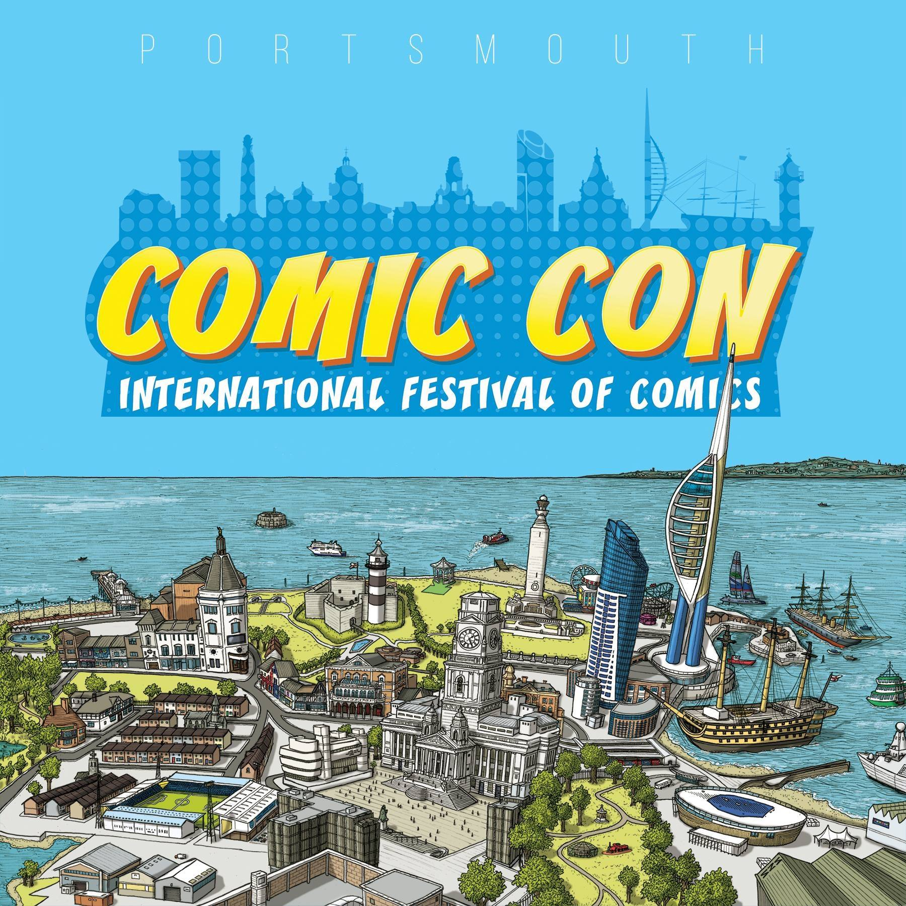 Portsmouth Comic Con Banner