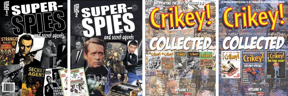 Comic Scene UK Super Spies Montage