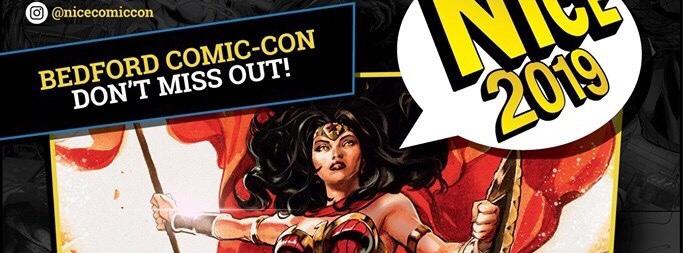 NICE Bedford Comic-Con 2019 Poster SNIP