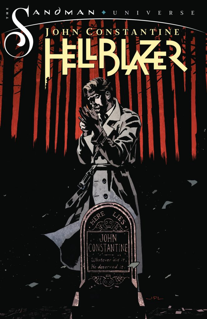 The new John Constantine: Hellblazer, written by Si Spurrier with art by Aaron Campbell and cover for #1 by John Paul Leon debuts from DC on 27th November 2019. John Constantine is back in London, back to his old tricks-and just in time, as things have become very dark indeed in his old stomping grounds