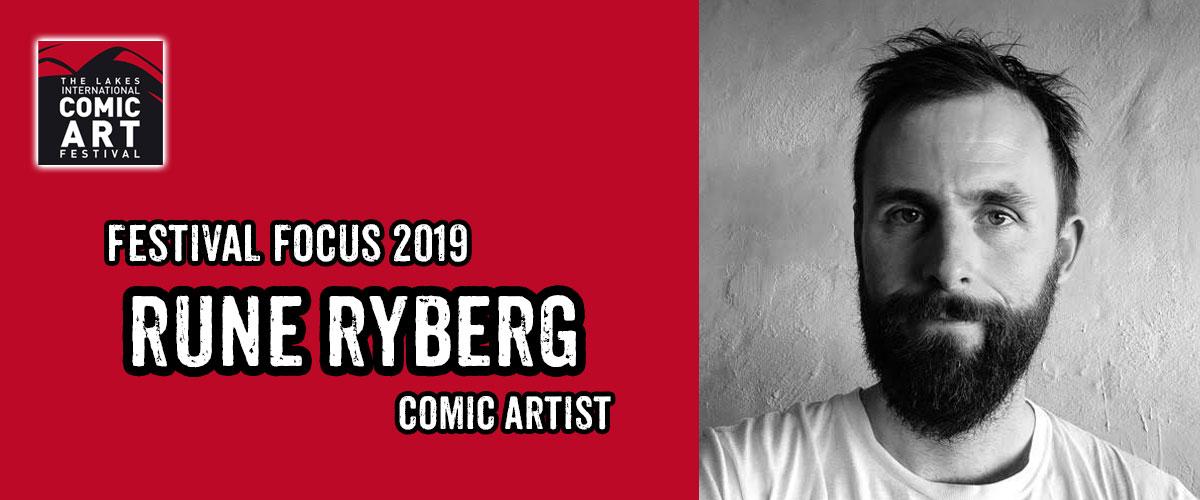 Lakes Festival Focus 2019: Comic Artist Rune Ryberg