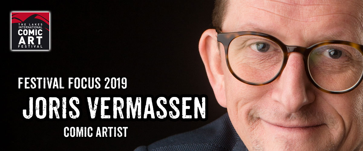 Lakes Festival Focus 2019: Comic Artist Joris Vermassen