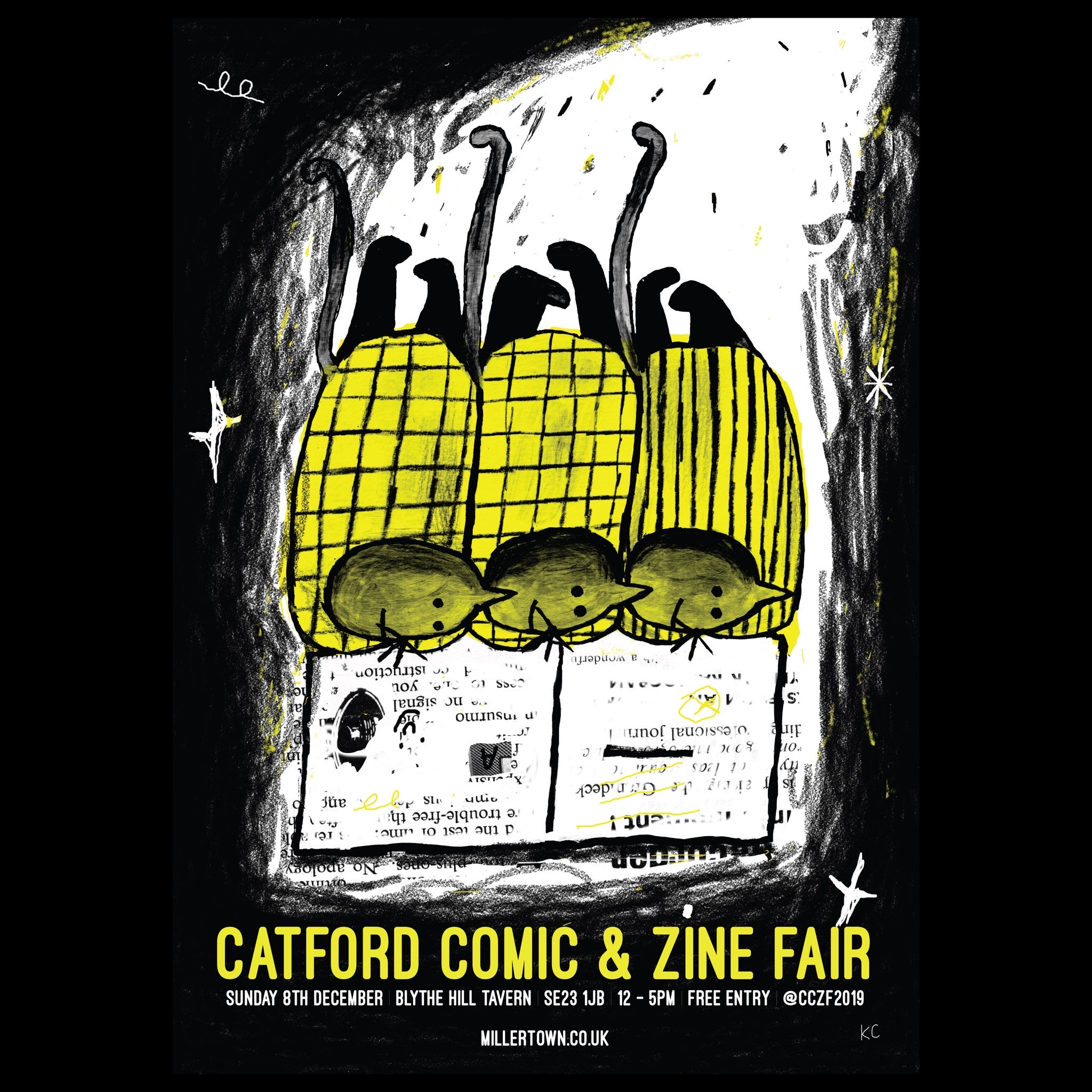 Catford Comic and Zine Fair 2019