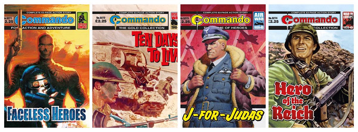 Commando 5271 - 5274 Montage