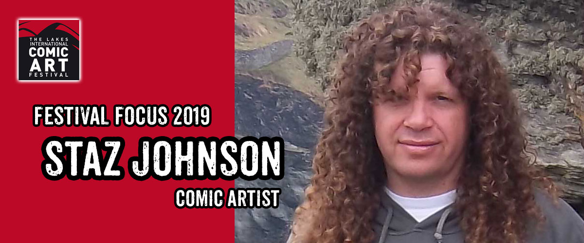 Lakes Festival Focus 2019: Comic Artist Staz Johnson