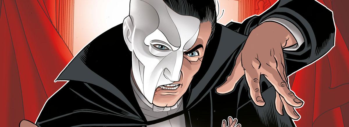 Titan Comics - The Phantom of the Opera SNIP