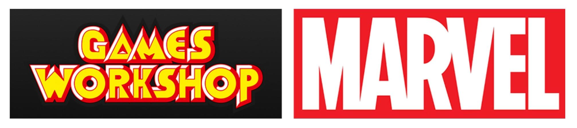 Games Workshop/Marvel Logos