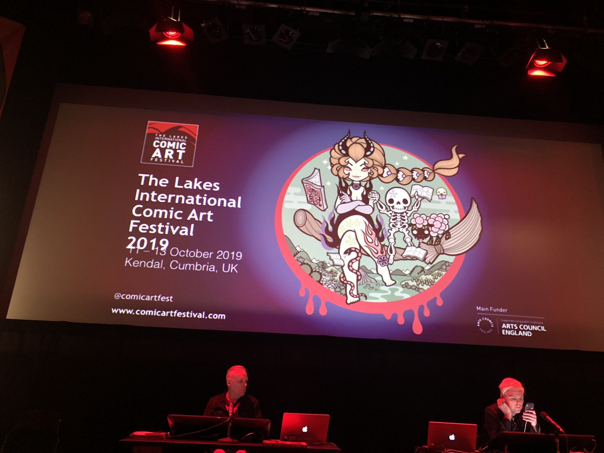 Lakes International Comic Art Festival 2019. Image: Brewery Arts Centre