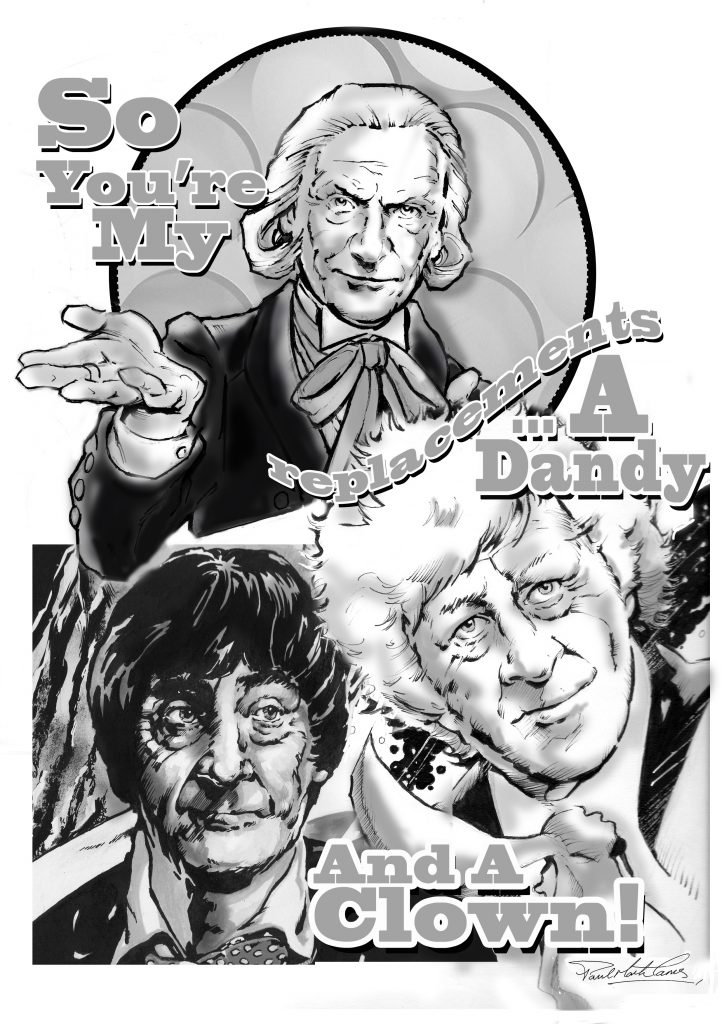 Doctor Who - The Three Doctors by Paul Mark Tams
