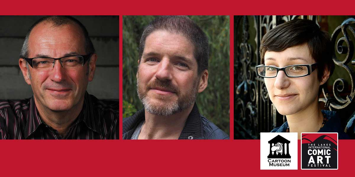 Comics Laureates Three - Dave Gibbons, Charlie Adlard and Hannah Berry