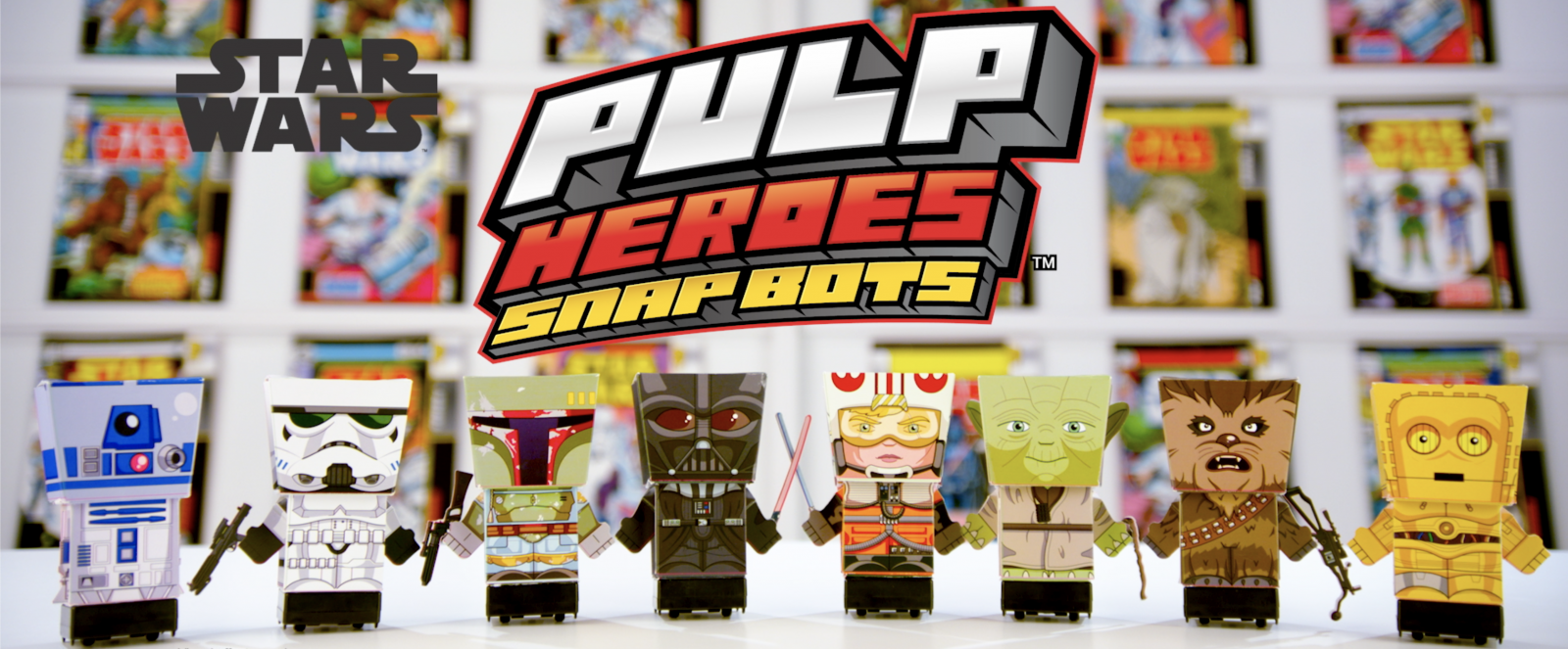 Pulp Heroes Star Wars Snapbots