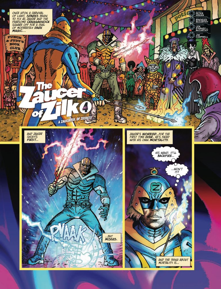 2000AD Prog 2165 - The Zaucer of Zilk