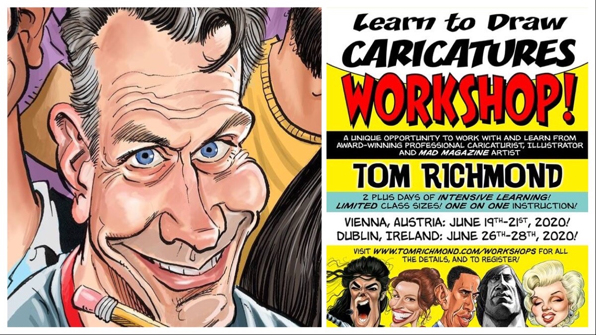 Learn to Draw Caricatures with MAD Magazine's Tom Richmond