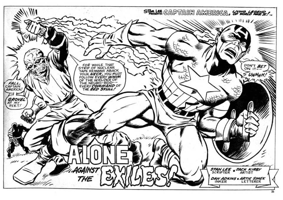 Marvel UK Memories: artist Jeff Aclin delights fans with his 1970s superhero art