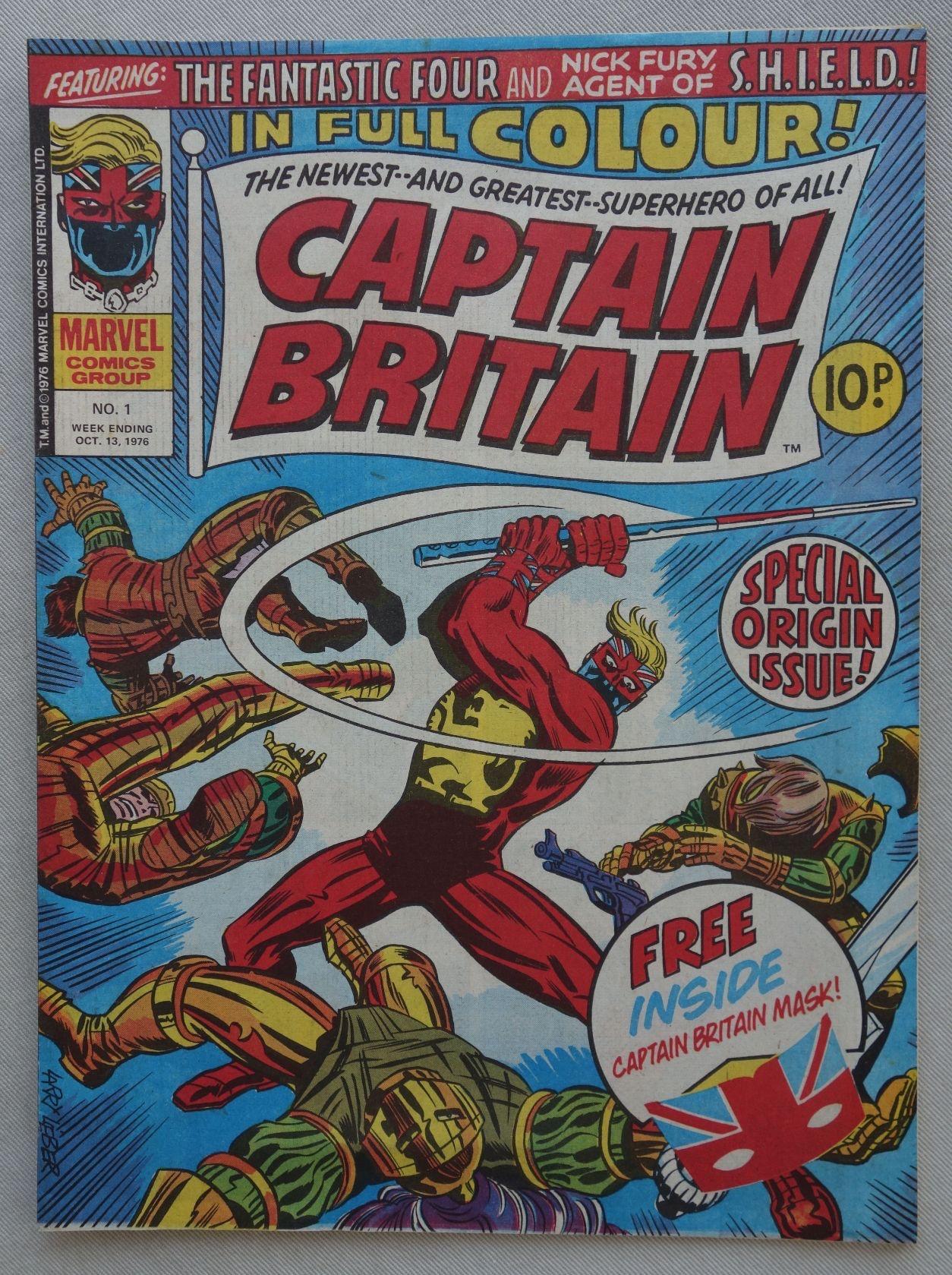 WebFind: Enfari's Syndrome: Captain Britain
