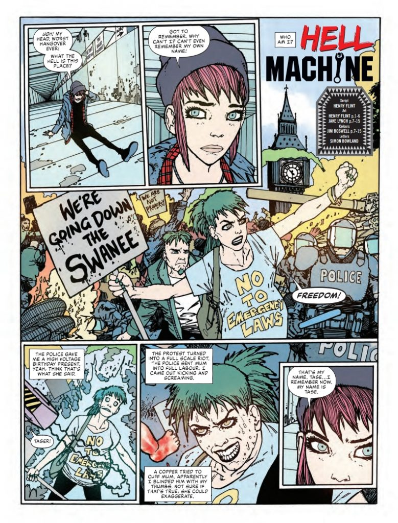 Action 2020 Special - Hell Machine