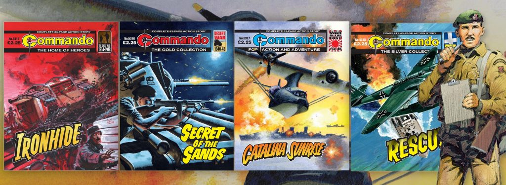Commando Issues 5315-5318 Montage