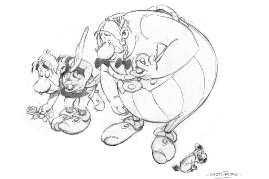 In Memoriam: Albert Uderzo, co-creator of Asterix and Obelix