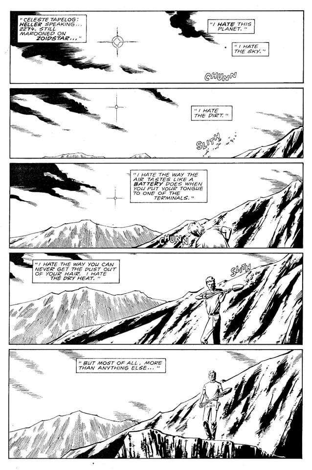 Zoids Monthly Issue One Page One