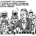 PPE cartoon by Brick