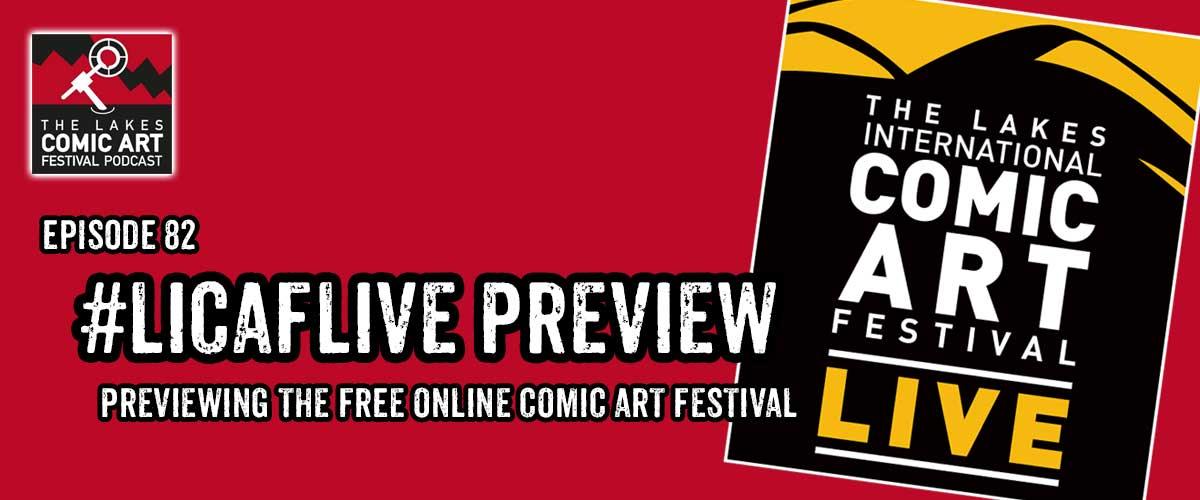 LAKES INTERNATIONAL COMIC ART FESTIVAL - cover